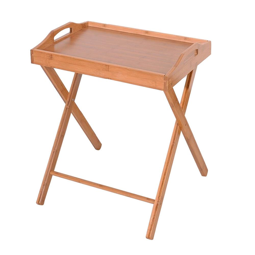 Details About Folding Tv Tray Table Stand Eating Snack Dinner Coffee Wooden Home Furniture